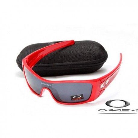 cc9818bf72c3b  16.00 oakley batwolf sunglasses with polished red frame   black iridium  lens http
