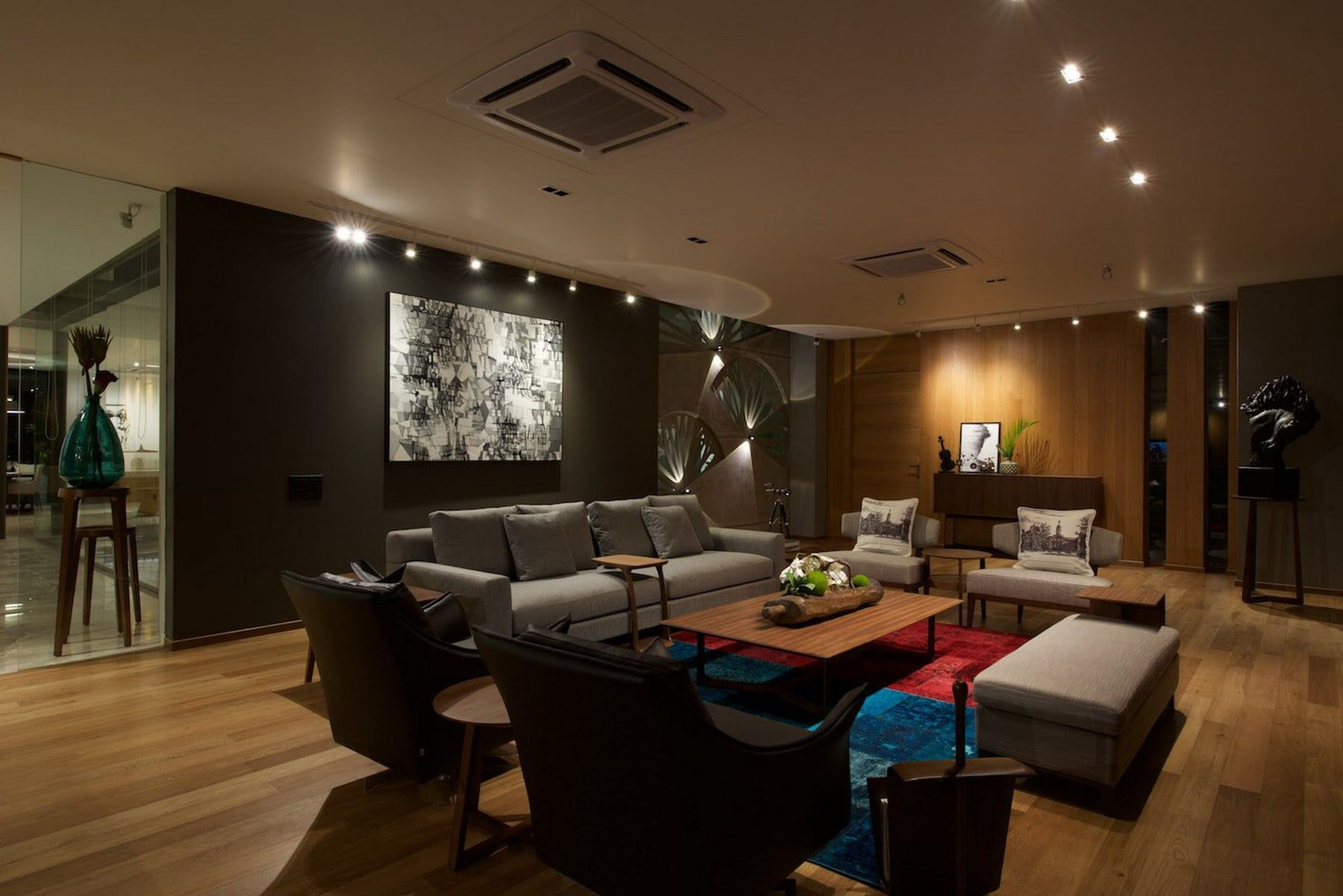 Led Track Lighting Living Room Illuminate Life For Living Room Track  Lighting
