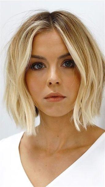 Die einfachsten kurzen lockigen Frisuren #Haircuts #coiffures mondedesc … - New Site #haircuts