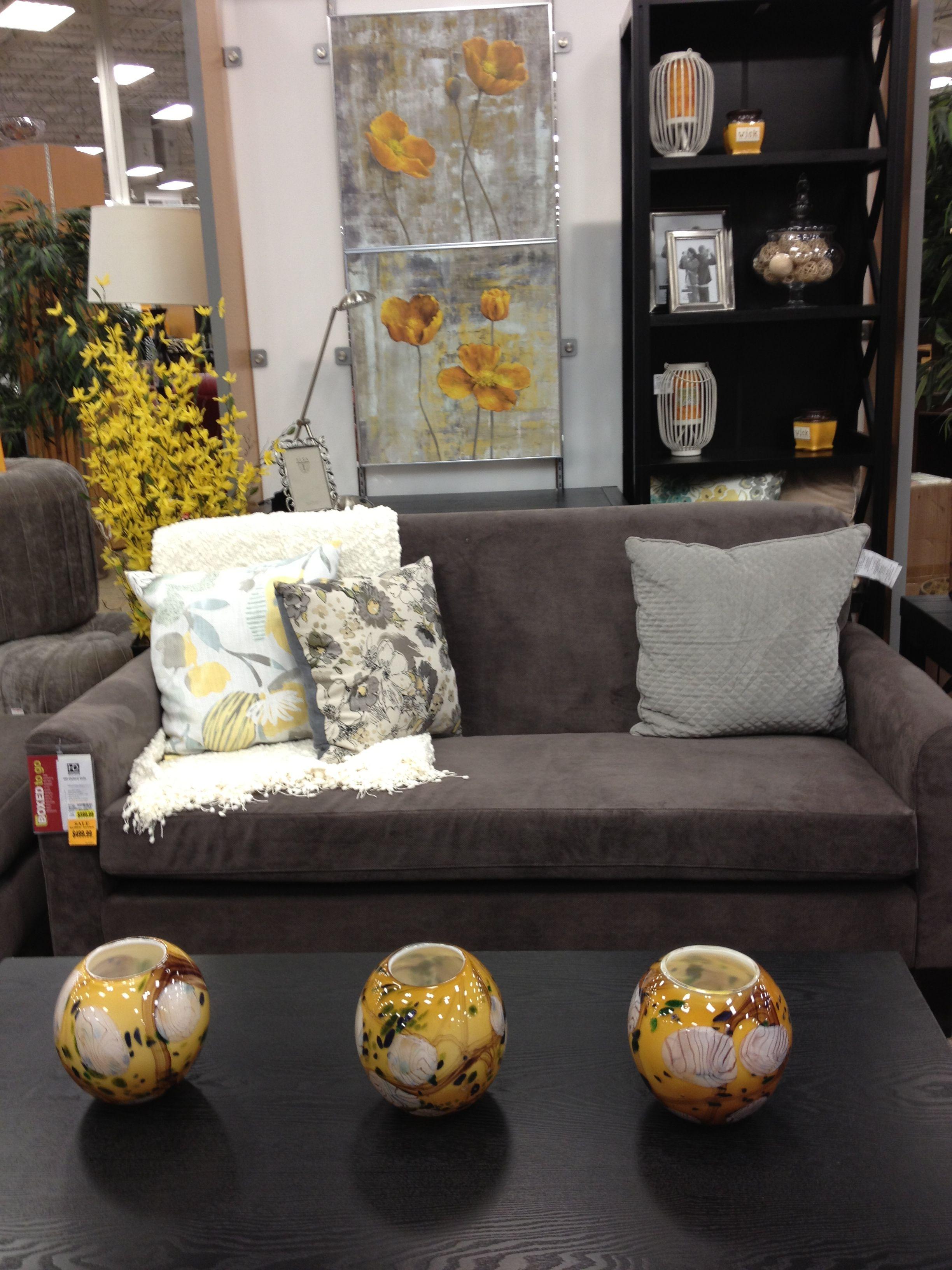 Yellow And Gray Fred Meyers Wasilla Alaska Home Wasilla Pillows