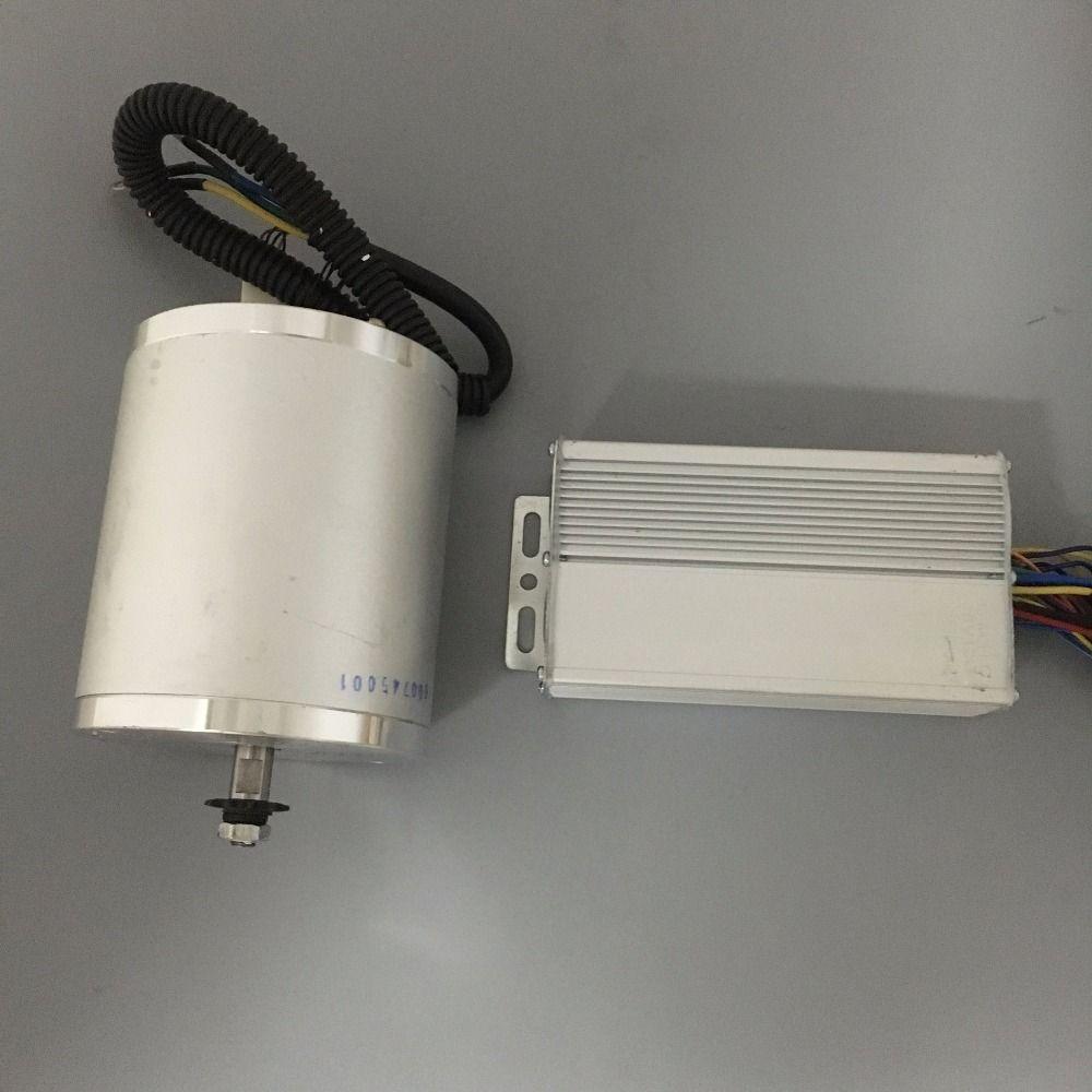 48V 1500W Motor Controller Drive High Speed Brushless DC Motor
