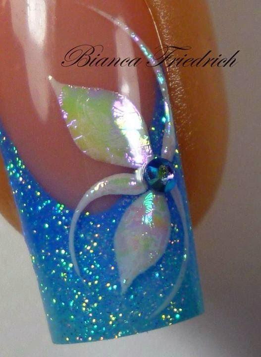 Orquídea de uñas: Pasos de Bianca F.