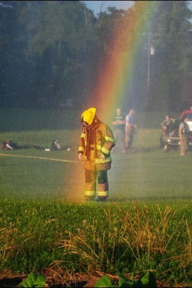 Wow Look Whats At The End Of The Rainbow A First Responder