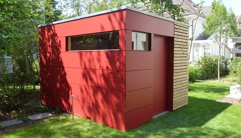 Popular moduplan Gartenhaus und Gartenh tte u exklusiv individuell modernes Design