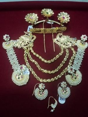 goan gold hair jewelry '- 1.pakhe
