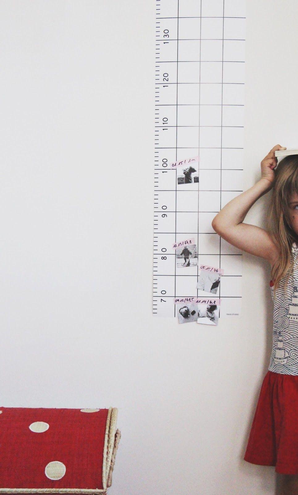 Kinderzimmer // Messlatte von SNUG. | Kids Room Ideas | Pinterest ...
