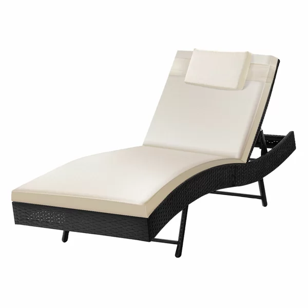 Thelen Reclining Chaise Lounge in 2020 Lounge chair