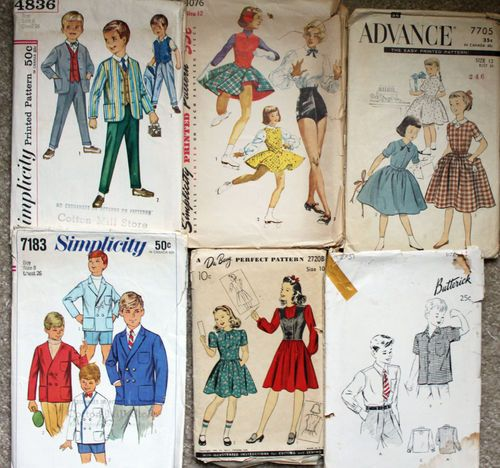 Vintage CHildrens sewing patterns | Sewing and Crochet | Pinterest ...