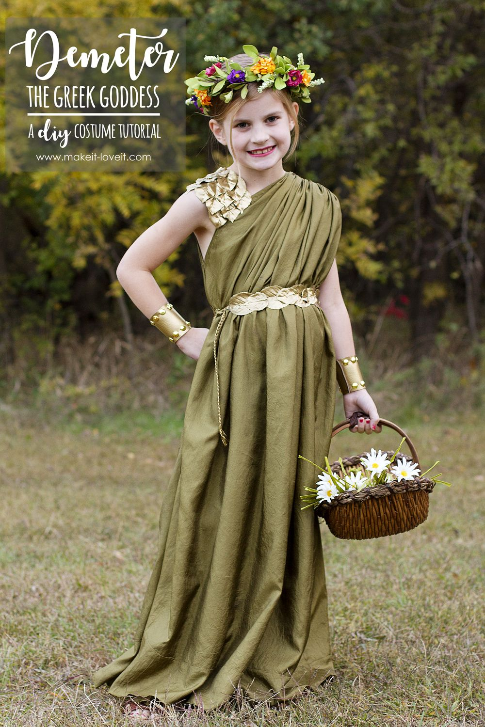 DIY Greek Goddess Costume  DEMETER  d2af74aac4e2