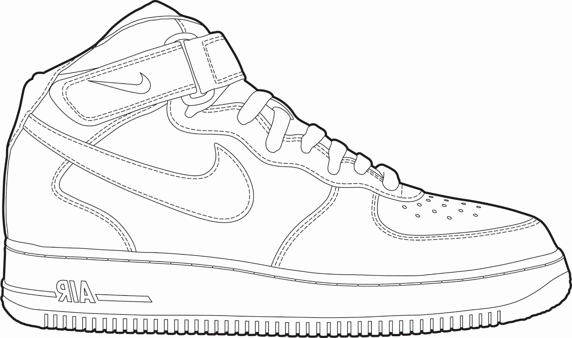 71 Elegant Photos Of Air Jordan Coloring Pages Sneakers Drawing