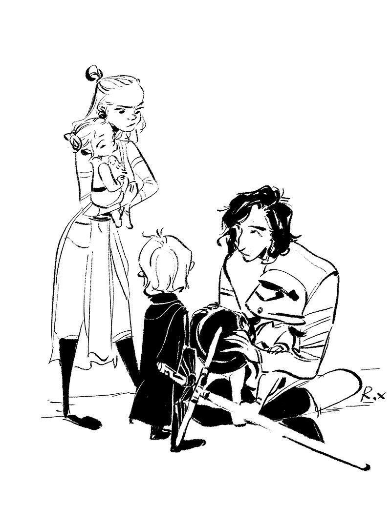 reylo sketches