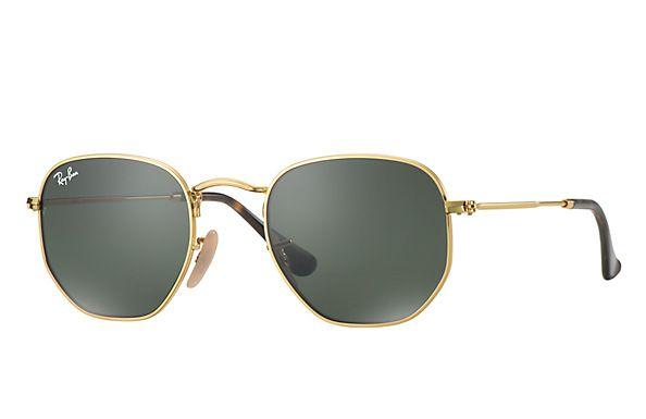 90f934f3d0f5f Compre Óculos de Sol Ray-Ban HEXAGONAL LENTES FLAT na loja oficial online  Ray-Ban Brasil. Frete Grátis em todos os pedidos!