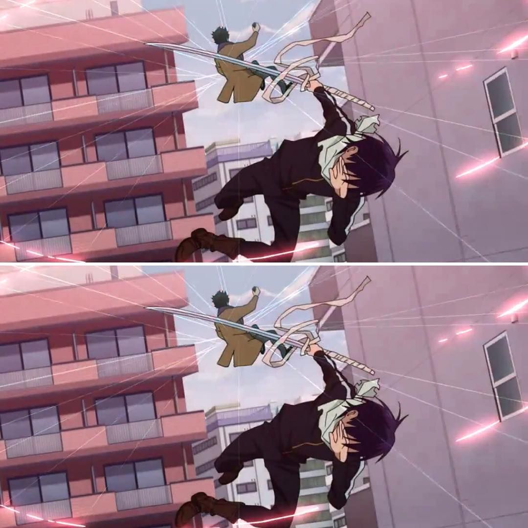 Just started watching Noragami and happened to see this