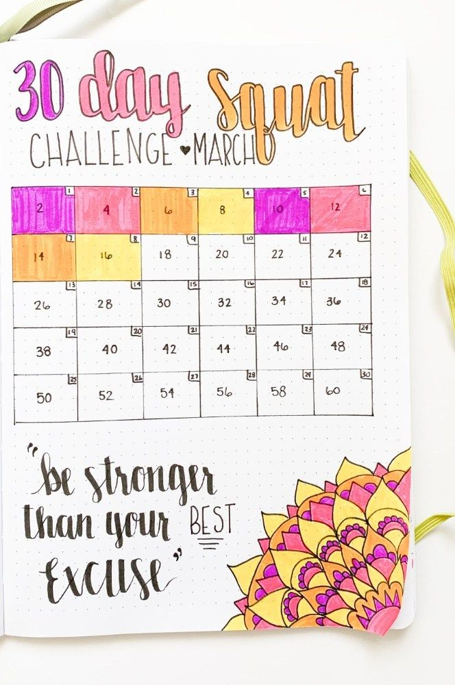 How To Practice Self-Care In Your Bullet Journal – Sidereal Life