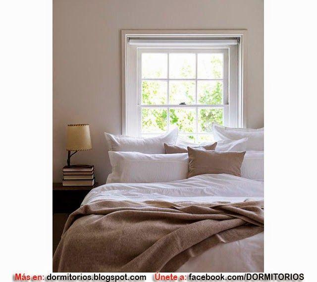 ventana como cabecero de cama