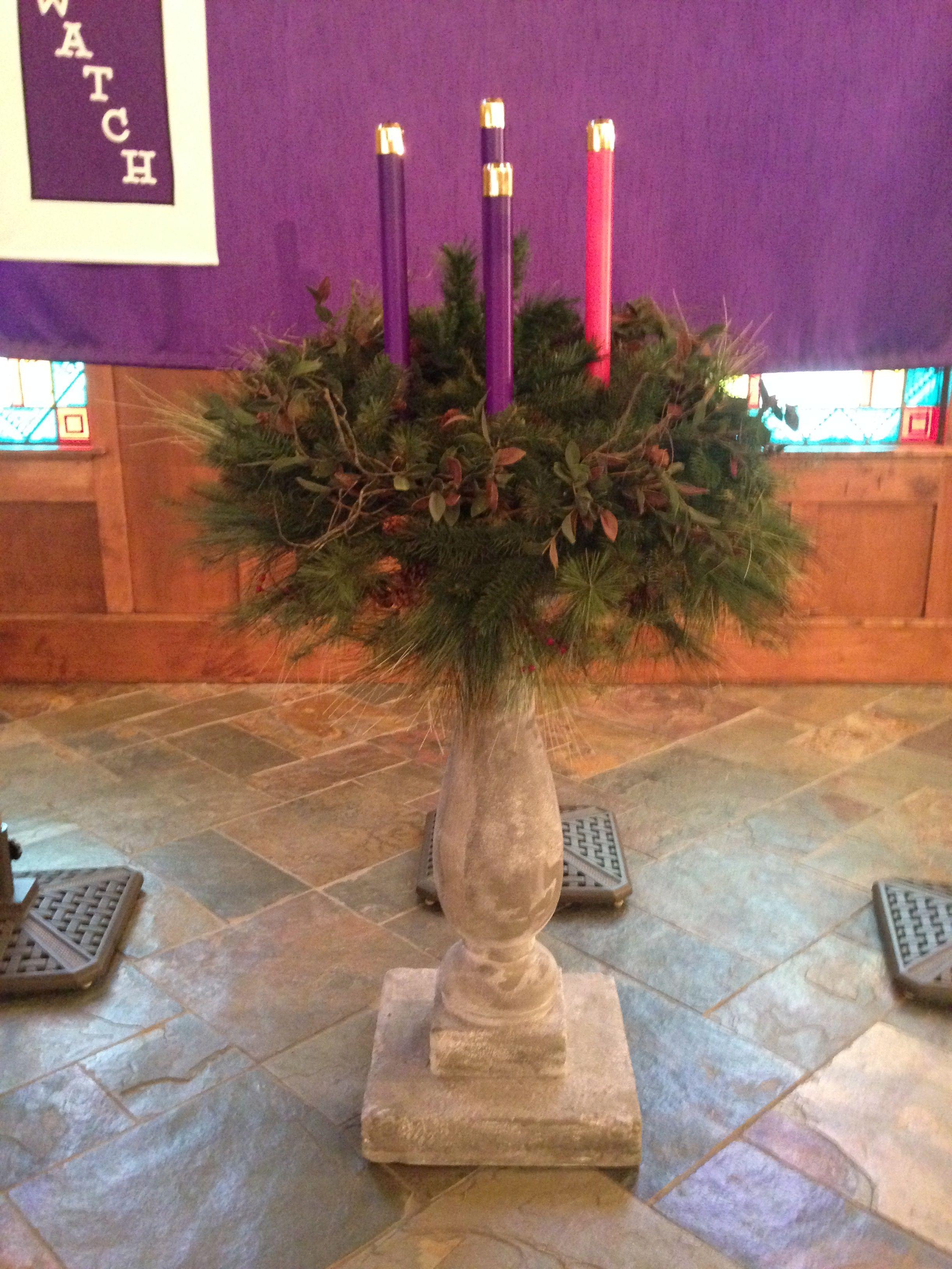 Saint Joseph Catholic Church Advent Wreath Catholic