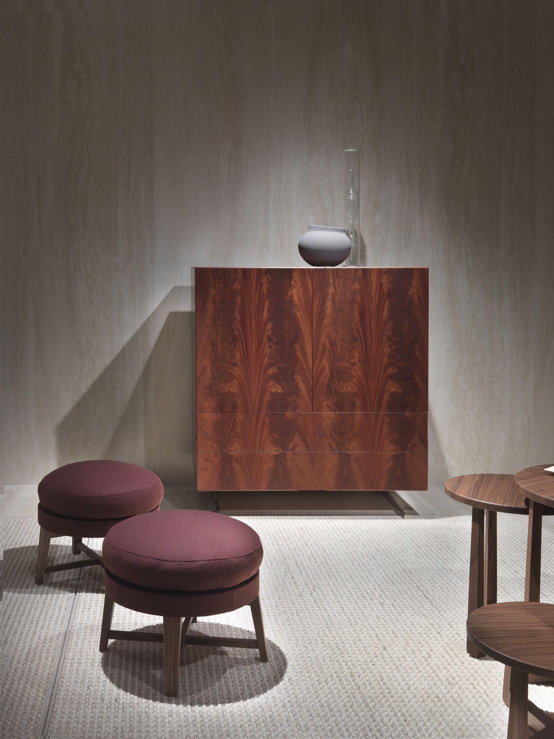 FLEXFORM PIUMA #cabinet and FEEL GOOD #ottoman, #design Antonio ...