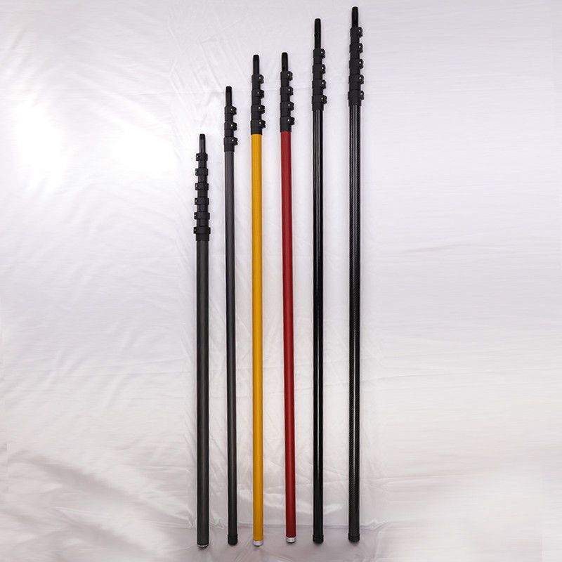 Window Cleaning 30 Foot Telescopic Pole Long Reach Lightweight Telescoping Pole Window Cleaning Pole Telescopic Pole Carbon Fiber