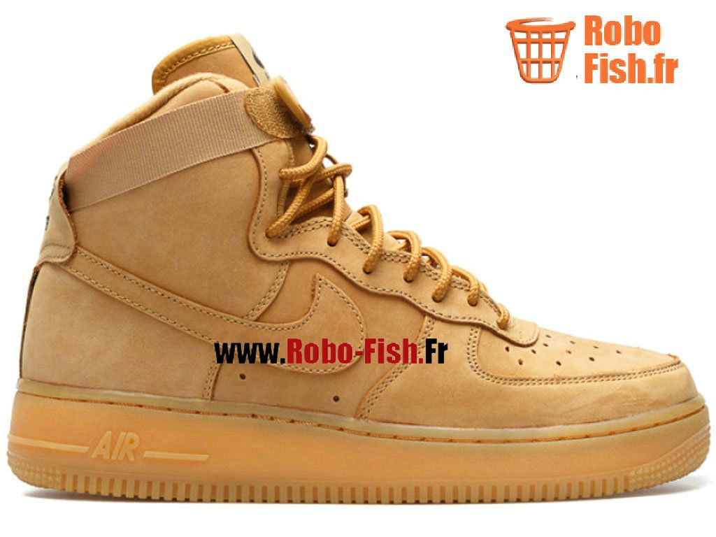 mens nike air force 1 high wheat