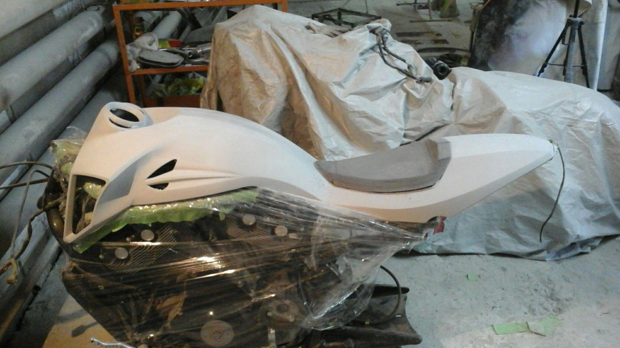 artdepo custom motorcycle harleydavidson vrod