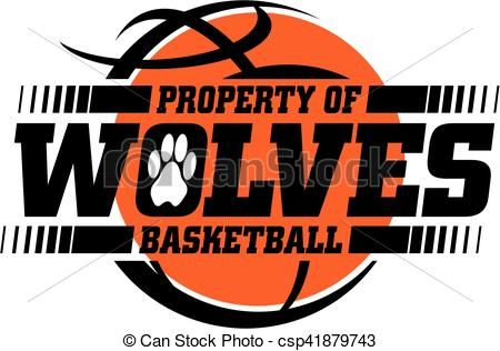 Vector - wolves basketball - stock illustration, royalty free illustrations, stock clip art icon, stock clipart icons, logo, line art, EPS picture, pictures, graphic, graphics, drawing, drawings, vector image, artwork, EPS vector art