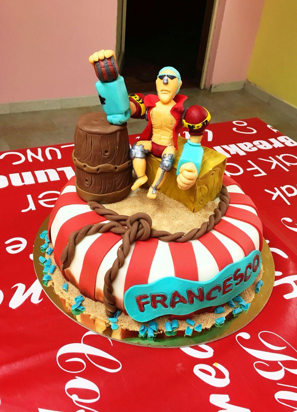 #OnePiece #Franky #cake