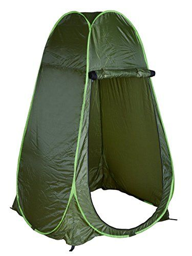 BTERIF Portable Waterproof Armygreen Changing Tent Camping Shower Toilet Pop Up Room Privacy Shelter >>> More info could be found at the image url.