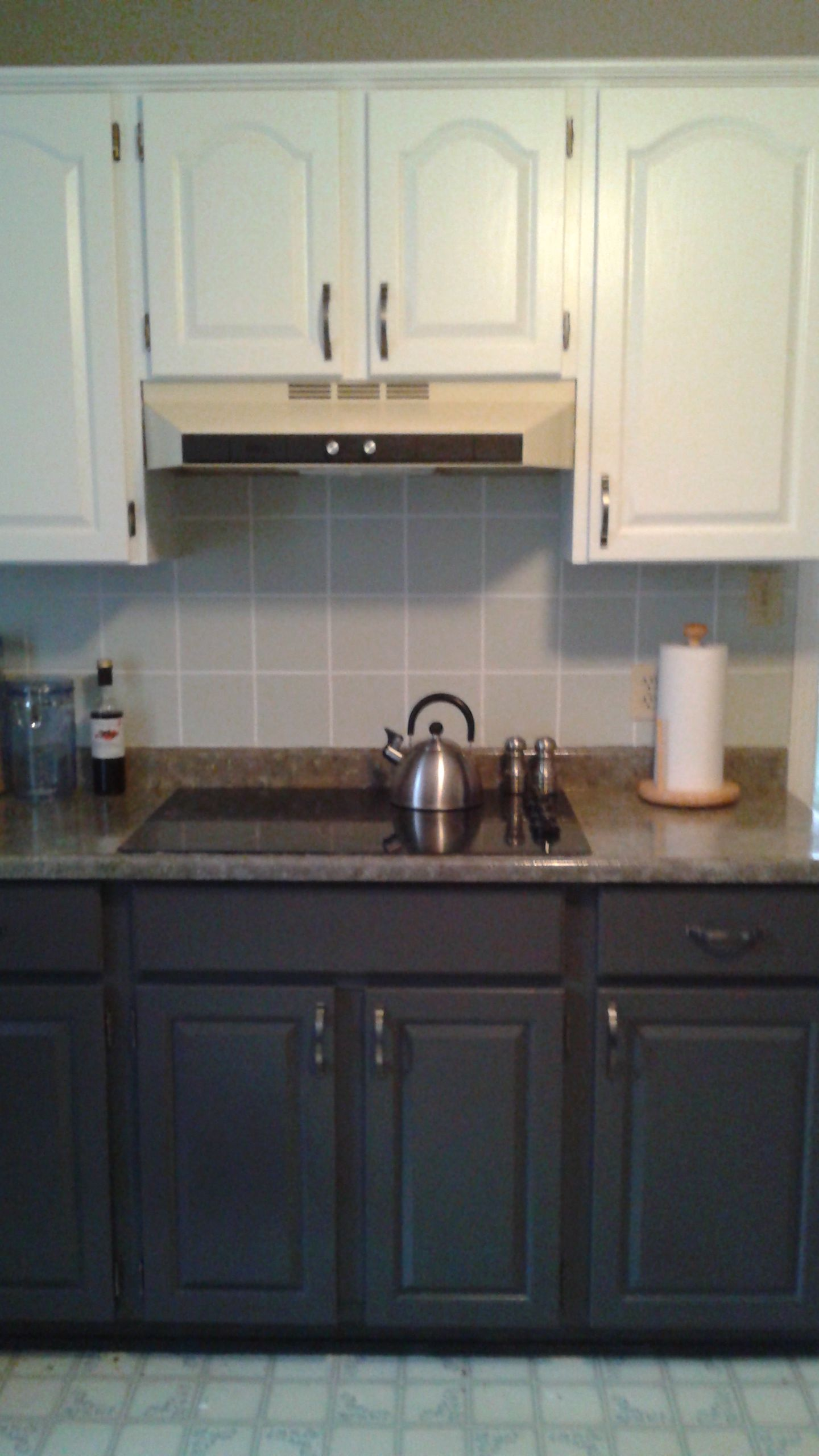 After look. The back splash was painted with 2 coats of Sico ...