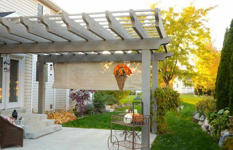Pergolas et jardin design  50 extérieurs qui font rêver