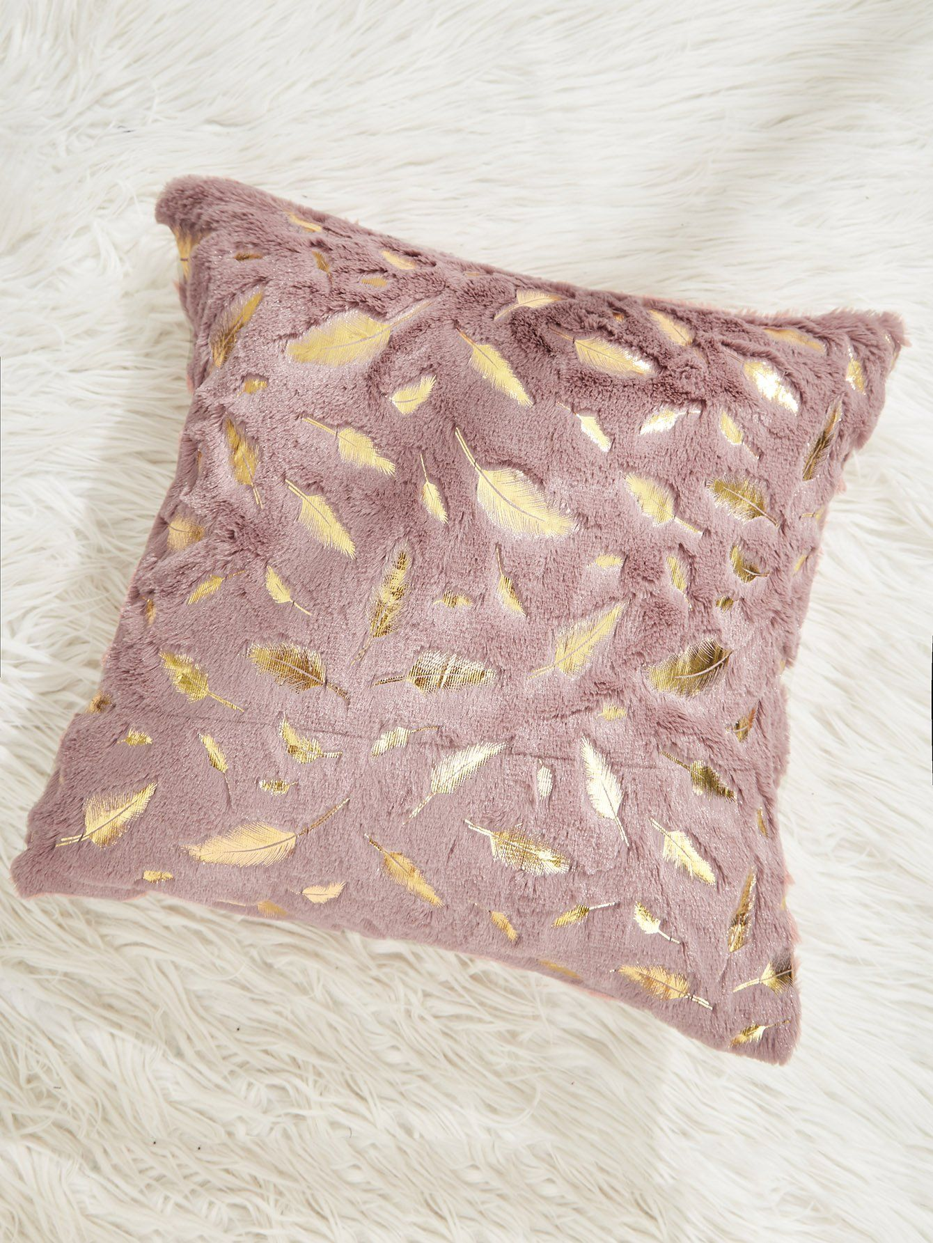 Feather pattern pillow case cover caroleus rooms pinterest
