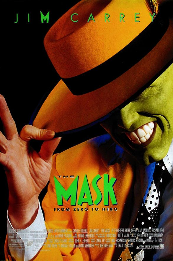 The Mask Hilarious Movie Cartazes De Filmes Famosos Filmes