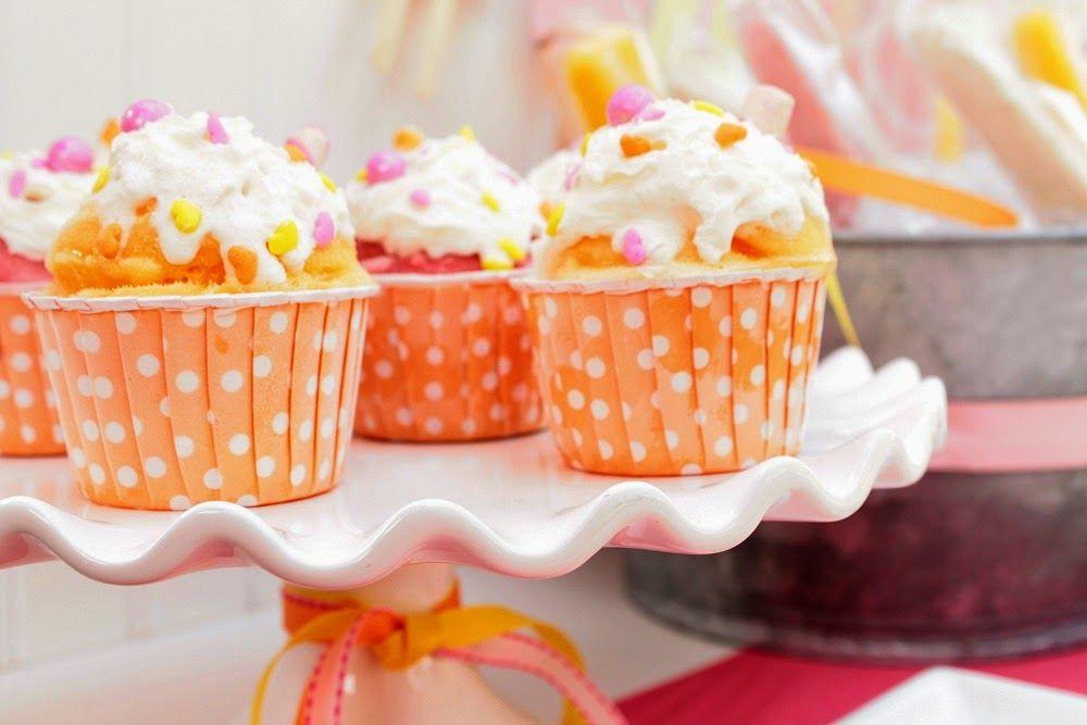 Sherbet cream cupcakes by Cupcake Wishes & Birthday Dreams   www.cwbdparties.com