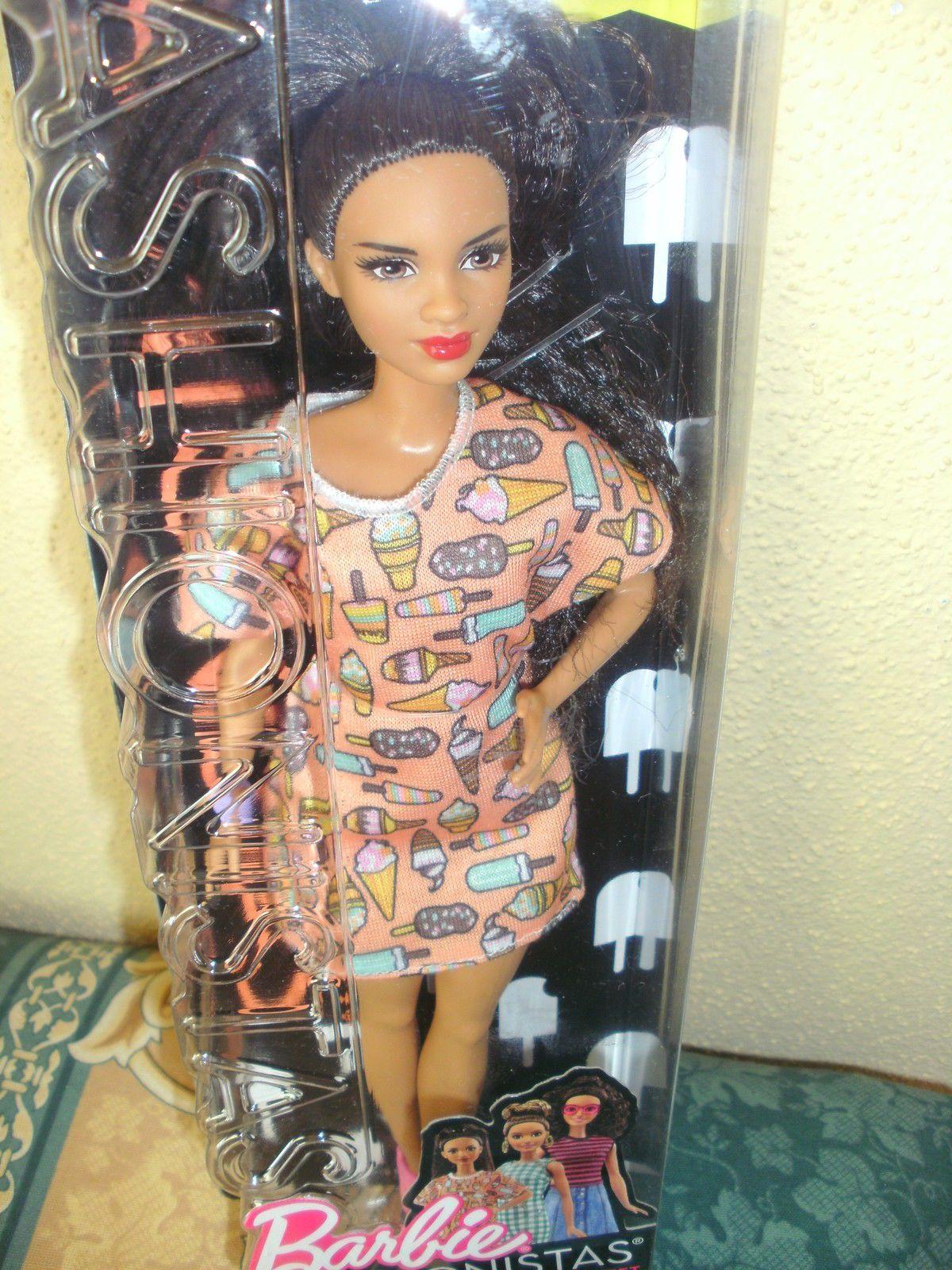 "2017 Mattel Barbie Fashionistas Petite Nr. 56 ""Style So"