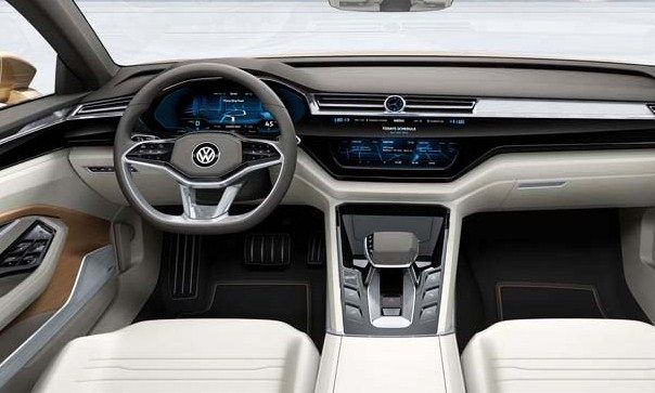2018 Volkswagen Cc Interior Mobil