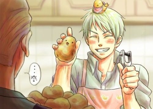 Mashed Potatoes {Part 2} | Hetalia! | Hetalia, Germany, prussia