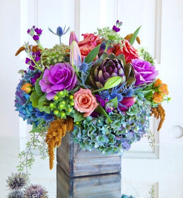 Dried Flower Floral Arrangement Pink And White Strawflowers In Dried Flower Arrangements Dried Flower Bouquet Flower Arrangement Designs