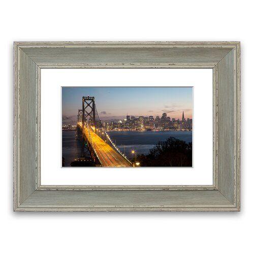 Photo of East Urban Home Framed Photographic Print Golden Gate Bridge | Wayfair.de