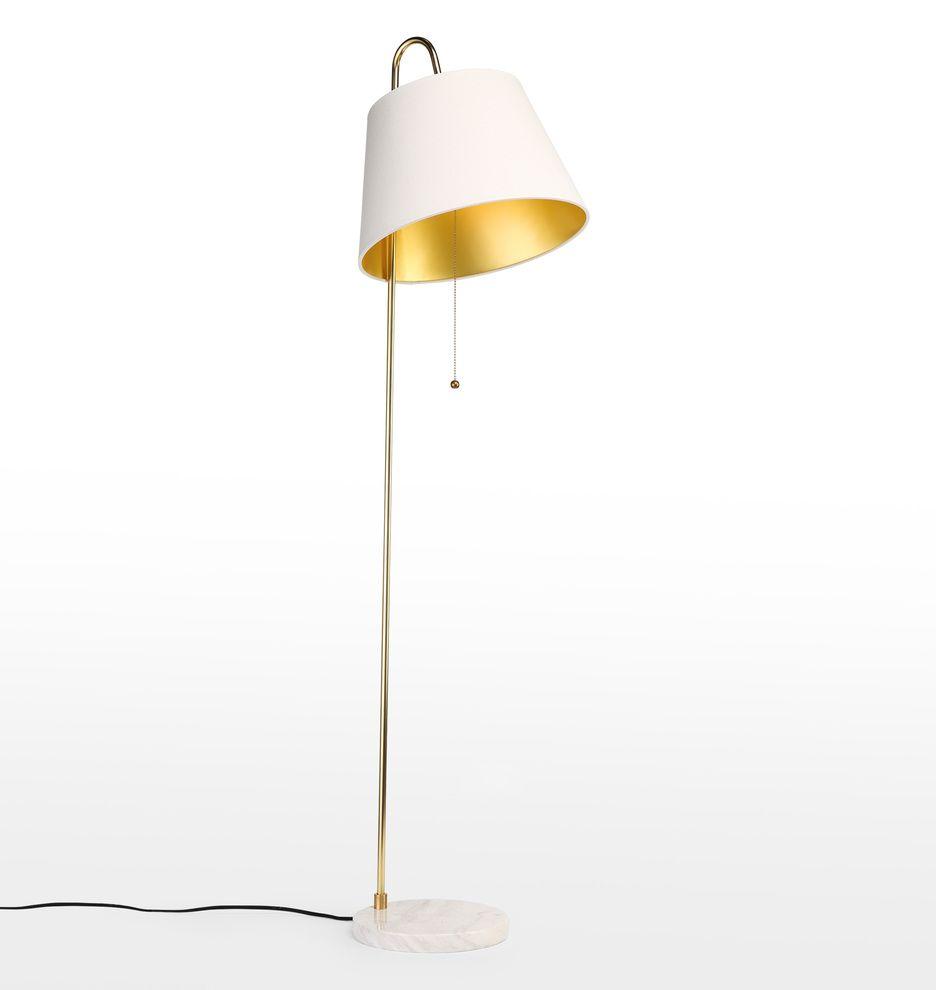 Stem Floor Lamp Rejuvenation Width Shade Bottom 15 Height