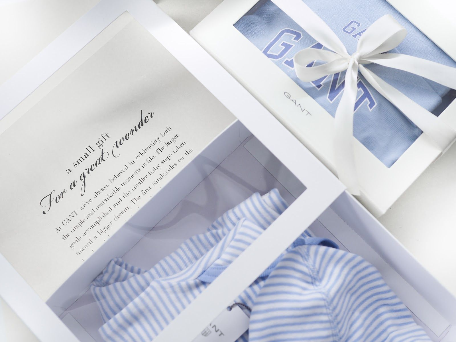 Teljänneito: there is a first time for everything, beautiful gift from Gant