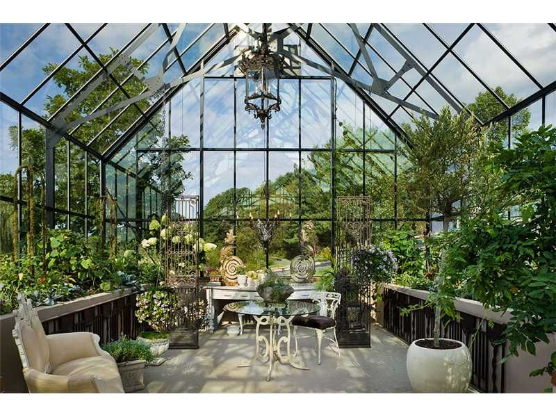 """Gorgeous green house at """"The Farm"""" for sale in Robinson, PA. - Oh yeah, this will do nicely."""