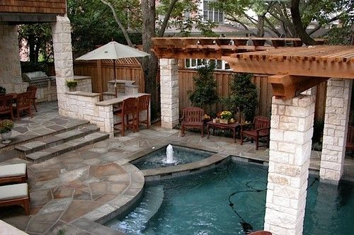 Small Backyard Oasis, by Original Landscape Concepts Inc - Small Backyard Oasis, By Original Landscape Concepts Inc Landscape