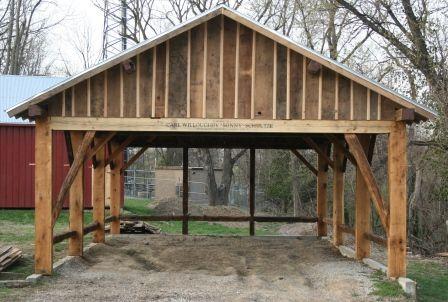 Timber Frame Pergolas Timber Frame Porches Amp Pavilions