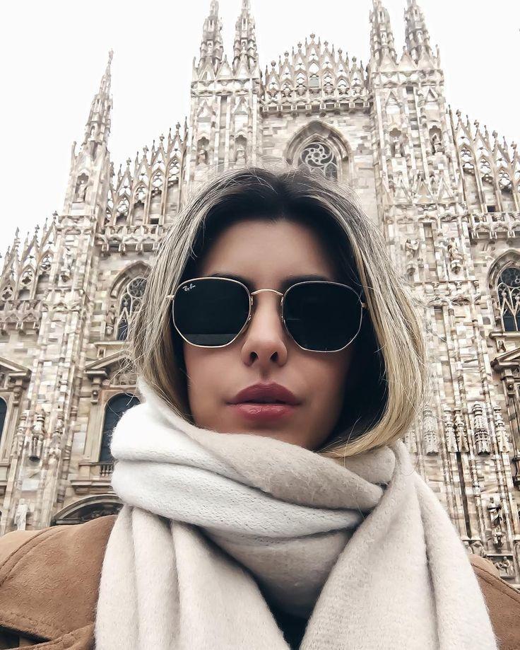 8aa8ae09e7e Hexagonal Ray-Bans in Milan