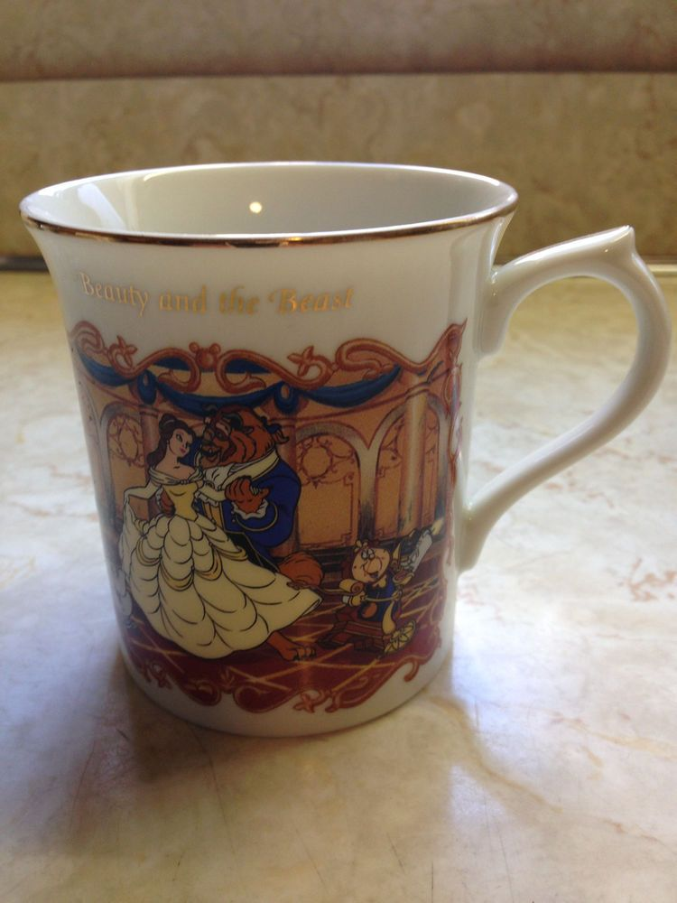 The Classics And Animated Lenox Beauty Beast Mug Collection H9bIE2eWDY