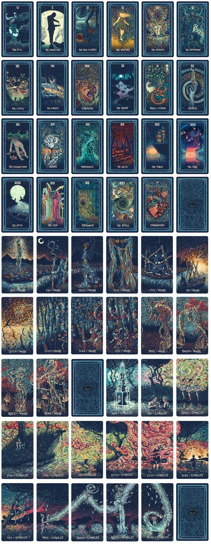 Printable Tarot Deck A Tarot Card Deck And Printable: The Prisma Visions Tarot By James R. Eads