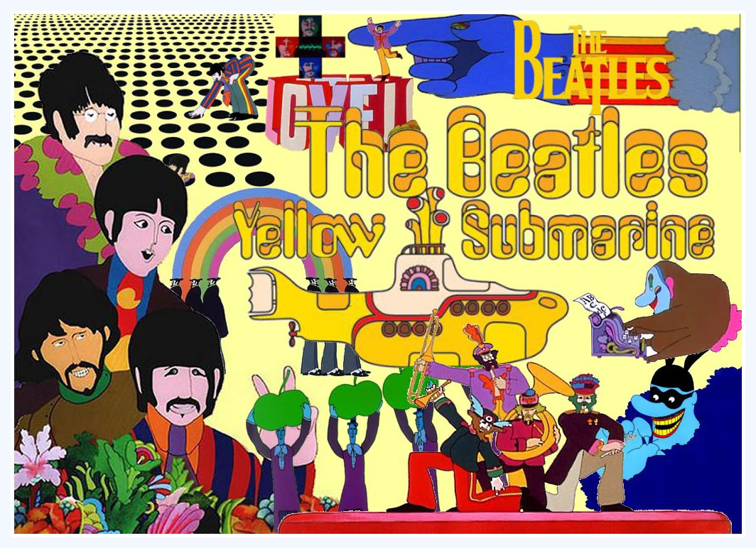 Peter Max Beatles Yellow Submarine Google Search Yellow