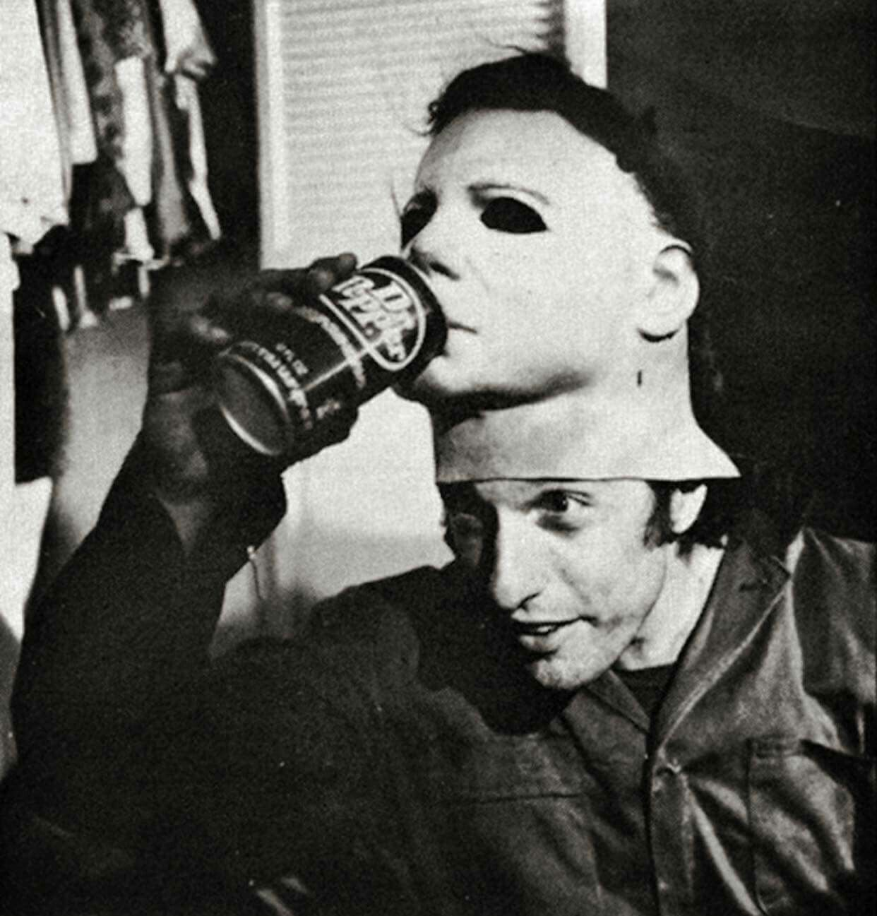 The man behind the Michael Myers mask, Nick Castle. Photo