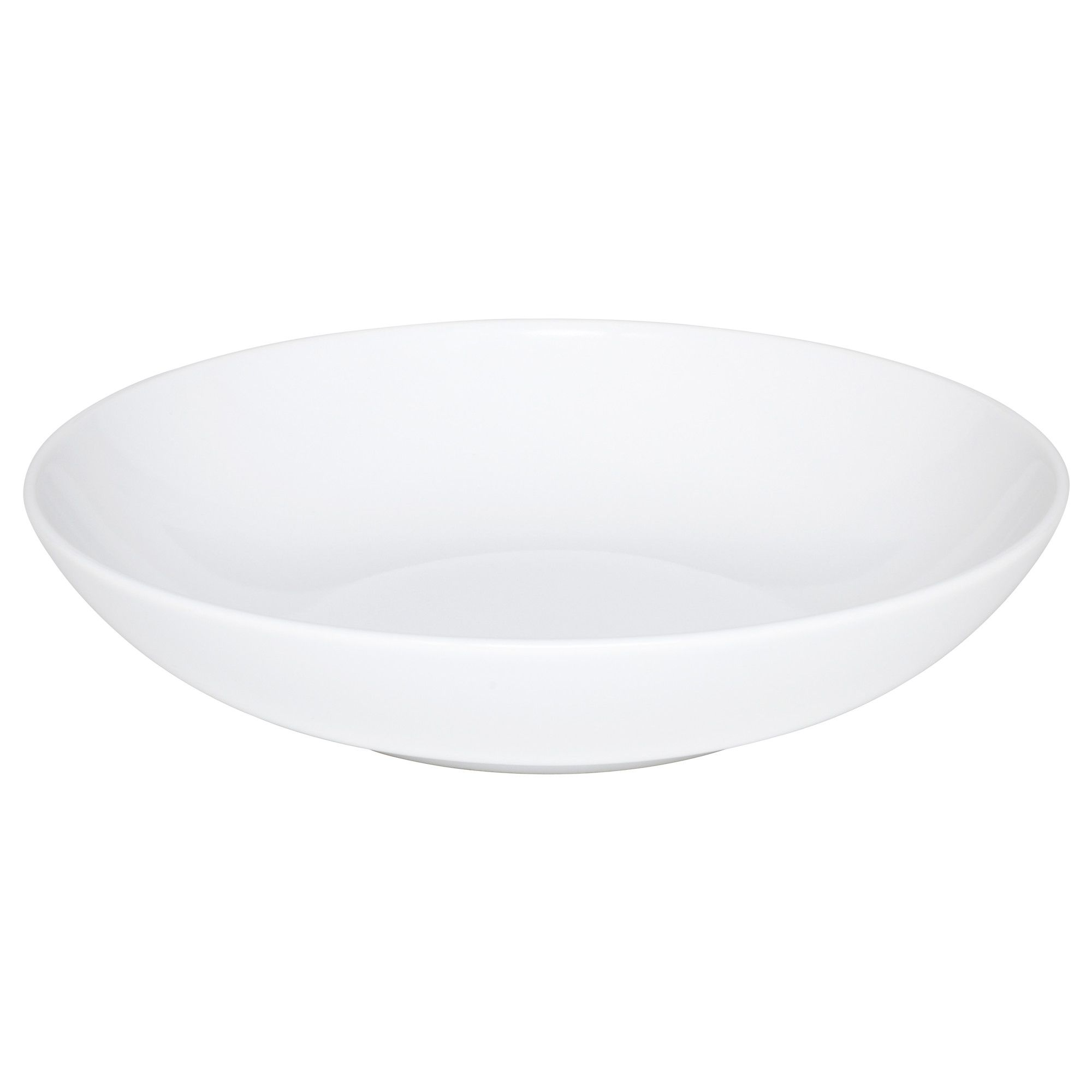 f rgrik bowl white stoneware ikea replace plates with large deep bowls 6 kitchen tools. Black Bedroom Furniture Sets. Home Design Ideas