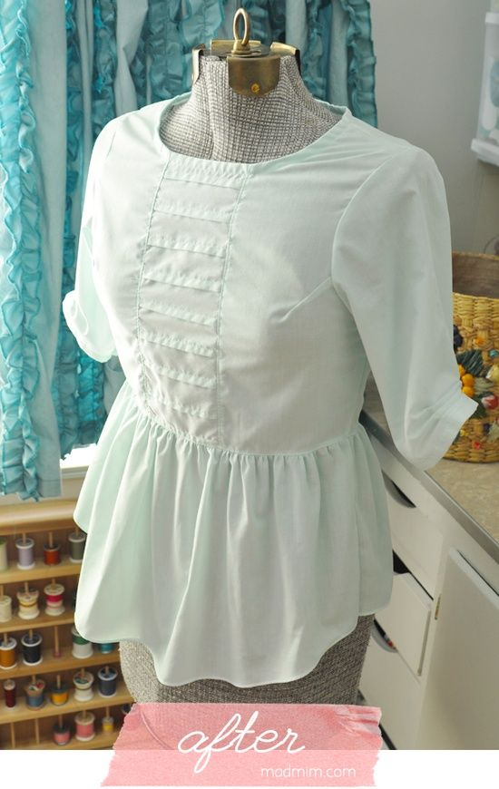 blouse made from a men's | http://t-shirt-mens.lemoncoin.org