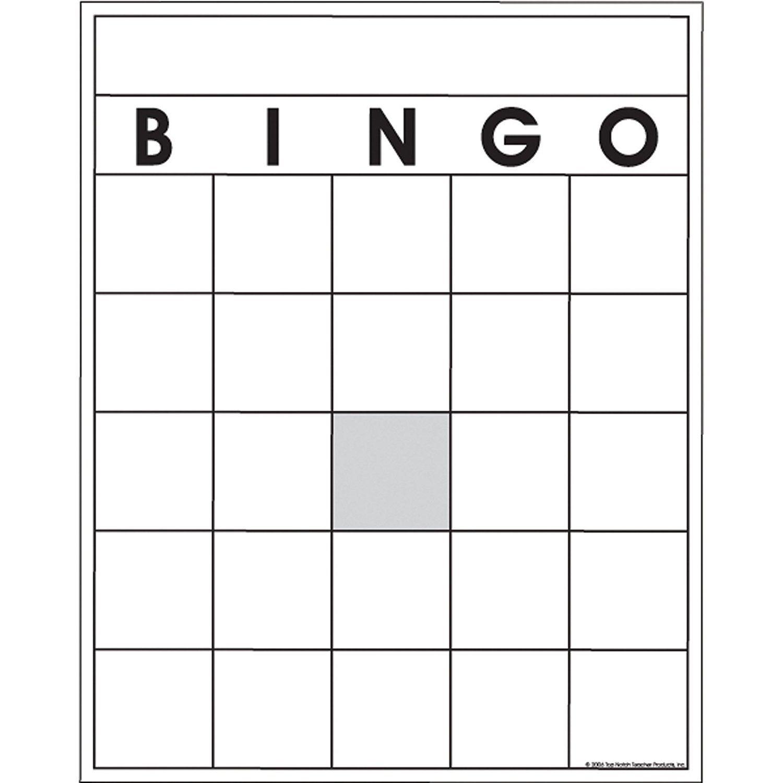 The Amazing Blank Bingo Card Template Microsoft Word